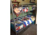 Bunk beds with underneath storage