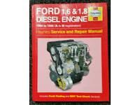 HAYNES MANUAL FORD 1.6 & 1.8 DIESEL ENGINE