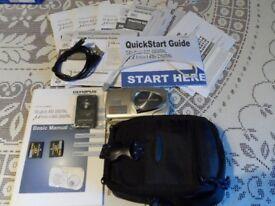 Olympus mju:µ 410 Weatherproof Digital 4.0 MP Camera Metallic silver