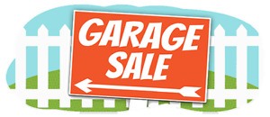 Garage Sale Tuesday and wednesday