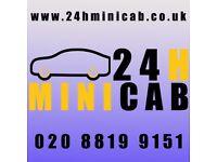 Taxi & MiniCab Driver Job Harrow, Northolt, Greenford, Perivale, Ealing, Hanger Lane, Park Royal