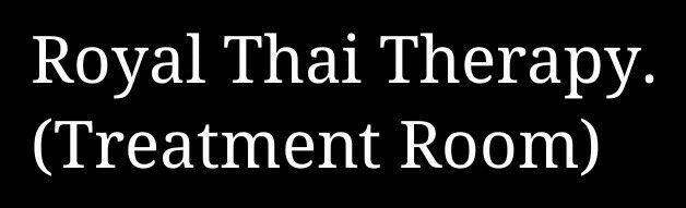 Royal Thai Therapy