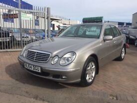 54 MERCEDES E270 CDI ELEGANCE FULLY LOADED WITH EXTRAS SUPERB DRIVE FULL MERCEDES HISTORY BARGAIN!!!