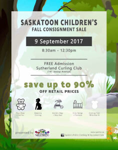 Large Kids Consignment Sale - FREE for Everyone!