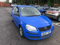 ***VOLKSWAGEN POLO 1.2 PETROL 2007 ONLY 59,000 MILES***