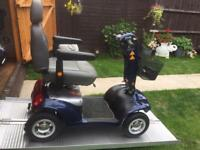 HUGE !! ALL TERRAIN STERLING EMERALD MOBILITY SCOOTER - 21 stone user - 20 MILE RANGE - was £2800