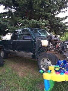 95 Chevy 1/2 ton parts truck( without box.)