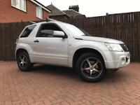 Suzuki Grand Vitara 4x4 With Towbar Full Year Mot No Advisory Full Service History Only 62k On Clock