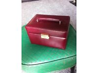 M & S Jewelry box