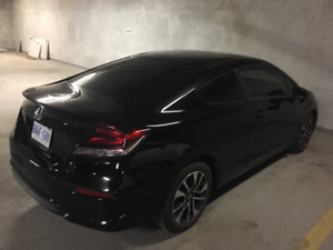 2015 Honda Civic EX Coupe (2 door) Black Mint Condition