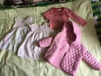 Baby girls cloths 9-12m