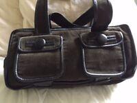 BAG: GENUINE CACHAREL SHOULDER BAG & DUST BAG used