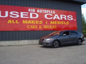 2015 Honda Civic Sedan EX Sunroof Alloys