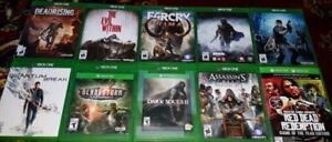 XBOX One Action and Kids Games (Various Prices)
