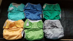 4.0/5.0 Bumgenius Diapers