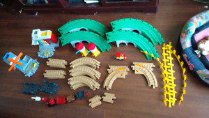 Geotrax Geo Trax gros lot de deux set 50 pieces