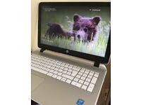 HP Laptop for sale. Beats audio, 15.6 inch screen, i5 processor, 8GB RAM, 1TB hard drive.