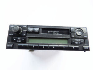 VW Golf Jetta 2004-2006 OEM AM/FM Cassette Radio 1JM035157E