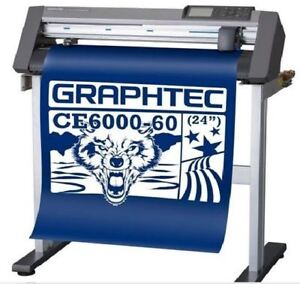 "GRAPHTEC CE6000-60 24"" Vinyl CUTTER + HOTRONIX CRAFT HEAT PRESS"