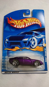 2001 HOT WHEELS DODGE CHARGER R/T PURPLE DIE CAST MINT