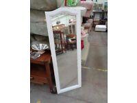 Cream Painted Full length Mirror