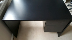Desk with file storage