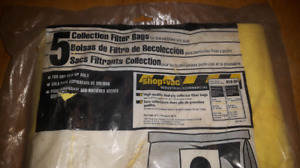 5 filter bags for 5-8 gallon shop vac $25
