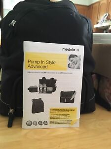 Medela pump in style + extras