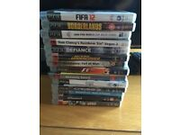 14 x PS3 Games (Playstation 3) for £15 total