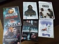 Selection of good films 10.00 for the lot! good condition