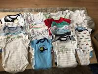 Baby boy bodysuit from 0-3 months-36 pairs