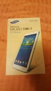 Samsung Galaxy Tab 3 with Case