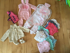 Baby girl clothing lot excellent condition