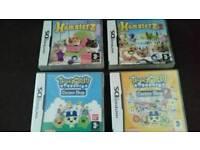 4 Nintendo Ds Games.