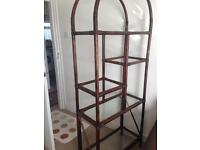 Decorating Show Rack made by special vintage Rattan bamboo