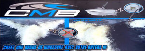 CMB WAKESURF SHAPER FORMEUR DE VAGUE DE WAKE SURF