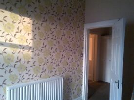 1 BEDROOM FIRST FLOOR FLAT TO RENT FRESHLY DECORATED -NIDDRIE ROAD