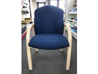 Reception/Visitor Chair, Very Good Condition. 14 In Stock.