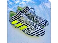 Adidas Nemesis 17.1 (with laces) FG/AG in the dust storm pack colourway.