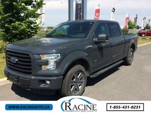 2016 Ford F-150 XLT FX4 3.5 ECOBOOST CREW CAB
