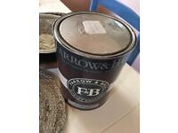 5 Litre tin of FARROW & BALL CALAMINE ESTATE EMULSION PAINT PINK