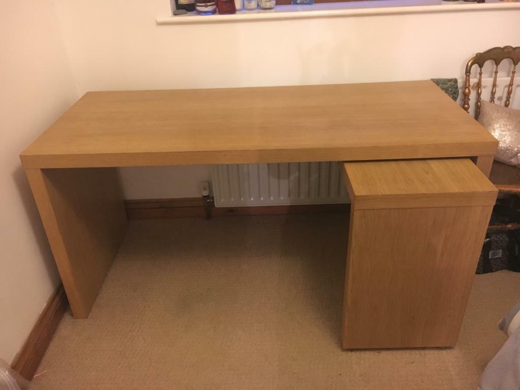 Malm Ikea Desk RRP. £100 | In Nailsea, Bristol | Gumtree