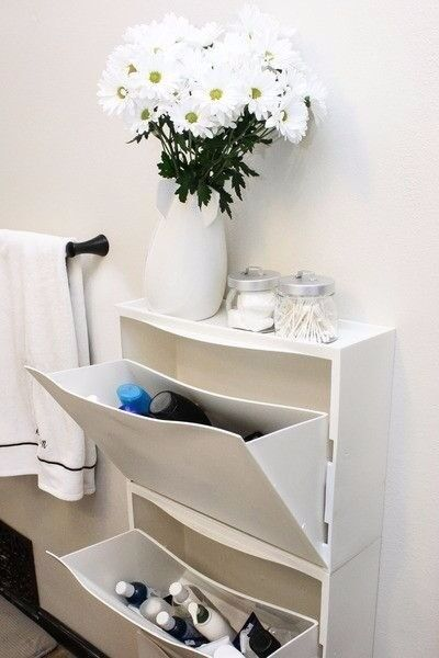 Merveilleux Ikea Trones Shoe Storage/cabinet/unit   3 Pieces In White