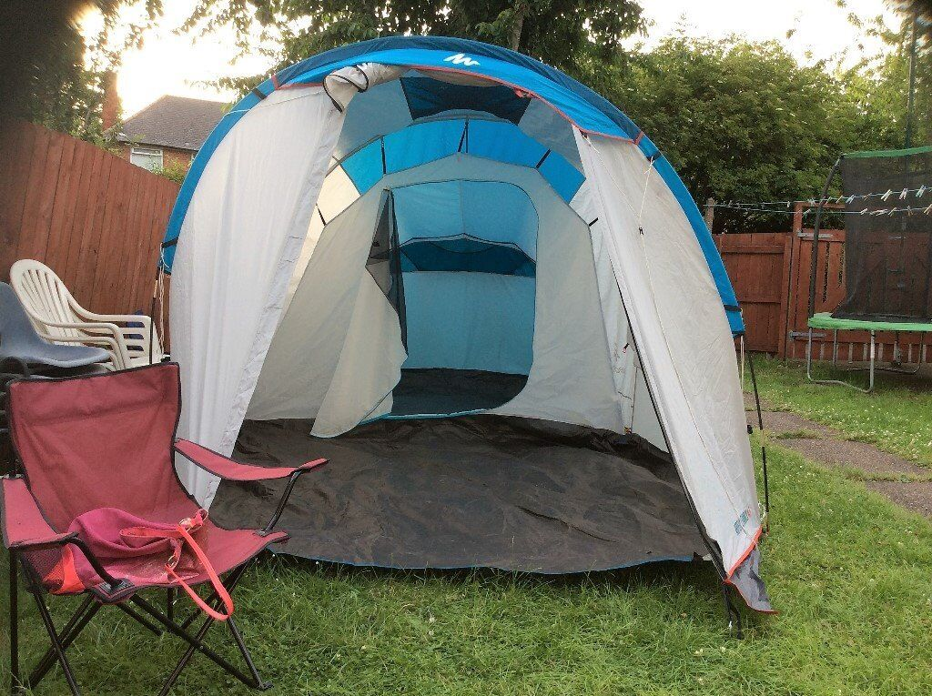 Family tent 4 people (Quechua family 4.1) & Family tent 4 people (Quechua family 4.1) | in Carlton ...
