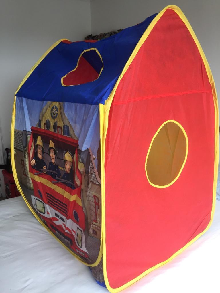Fireman Sam Pop Up Play Tent & Fireman Sam Pop Up Play Tent | in Lenzie Glasgow | Gumtree