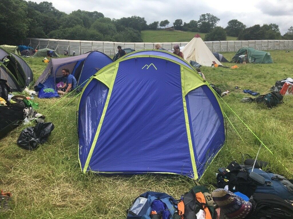 4 man tent. Used once. Great condition. Lombok 350 by freedom trail. & 4 man tent. Used once. Great condition. Lombok 350 by freedom ...