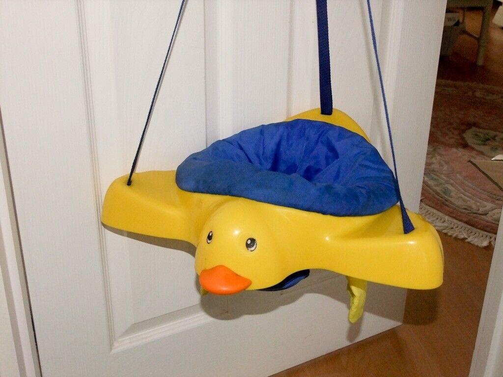 Mothercare Duck Door Hanging Baby Bouncer