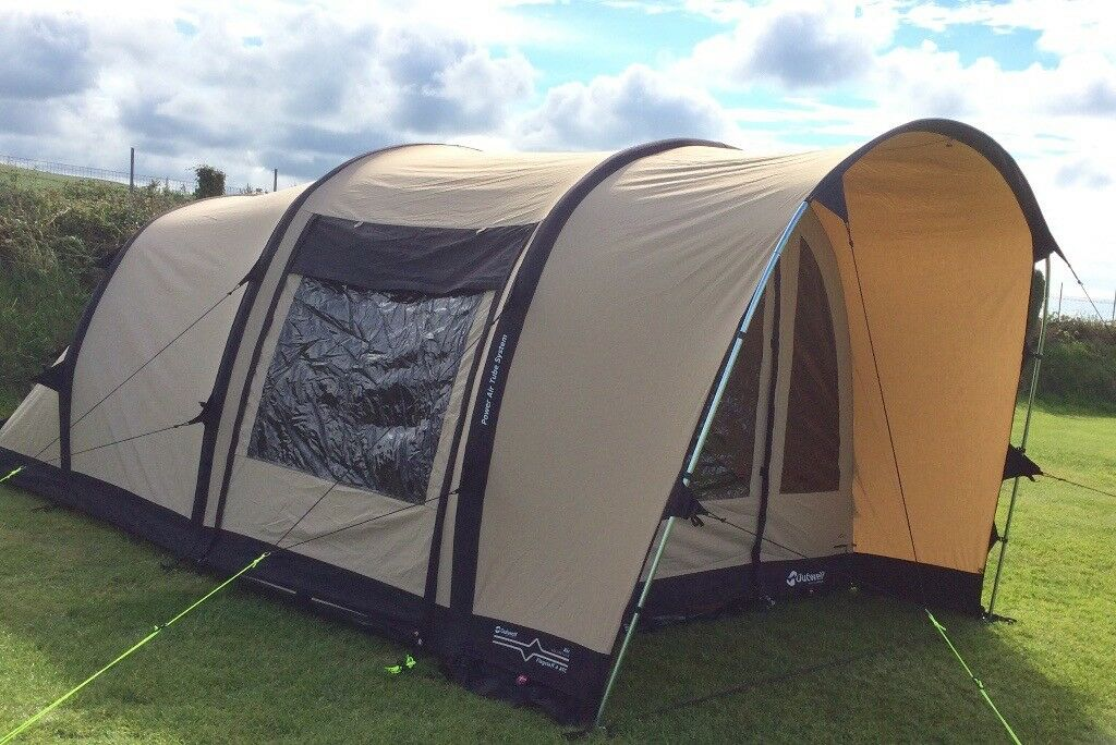 Outwell Flagstaff 4 ATC Inflatable tent. Bought last year (2016 model) and used & Outwell Flagstaff 4 ATC Inflatable tent. Bought last year (2016 ...