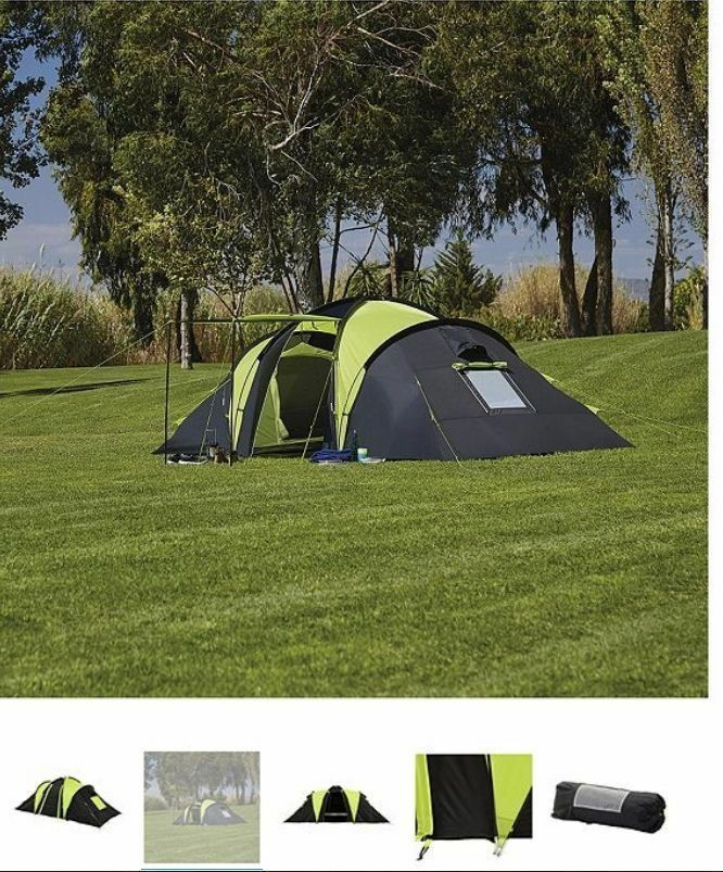 4 man tent double skinned BRAND NEW 2 BEDROOM low height tent & 4 man tent double skinned BRAND NEW 2 BEDROOM low height tent | in ...