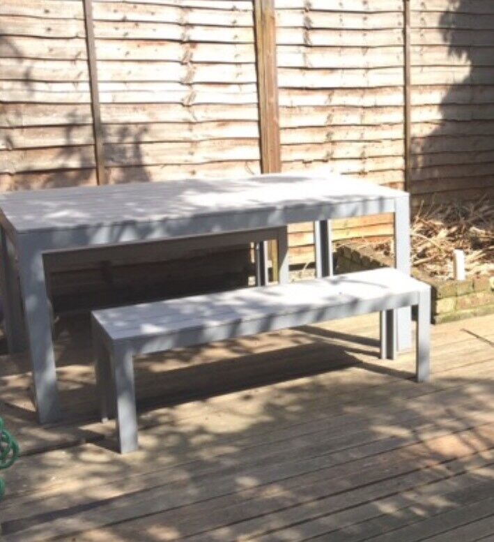 Garden Table 160x100 Cm And 2 Benches 130 Cm   Ikea Falster